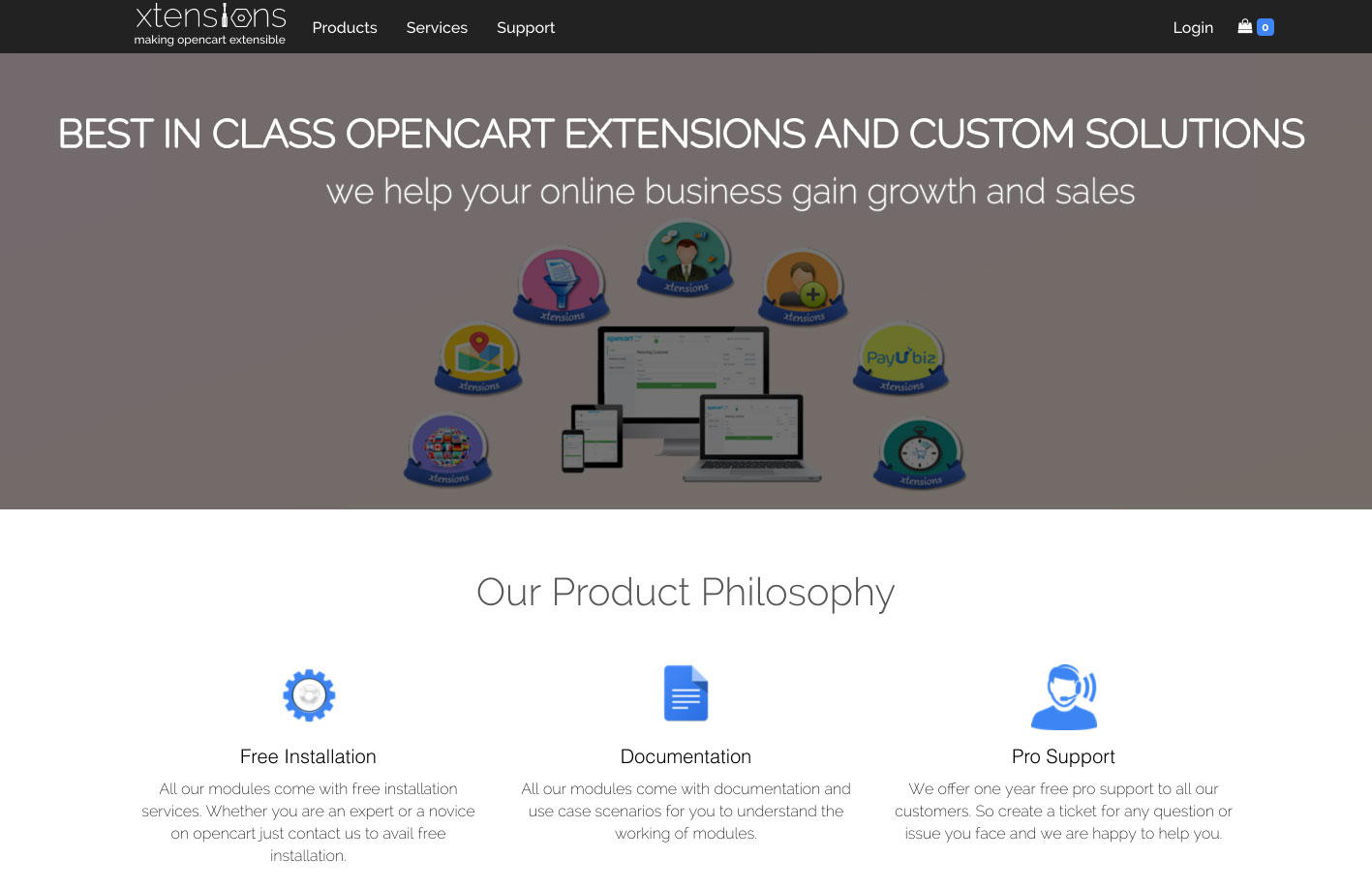 Xtensions - OpenCart Extensions, Modules, Themes, Custom
